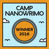 Camp NaNoWriMo Winner 2016