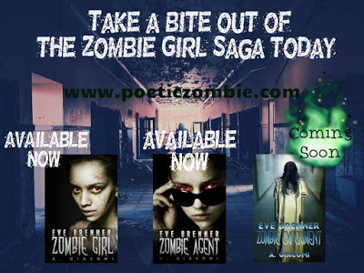 Eve Brenner: Zombie Girl series poster